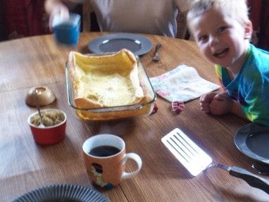 Gluten-free Dairy-free Dutch Baby