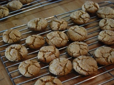 Extra Spicy Ginger Snaps- Gluten Free
