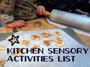 Kitchen Sensory Activities