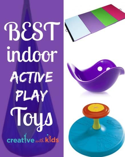 The BEST Indoor Active Toys - These have lasted us for years
