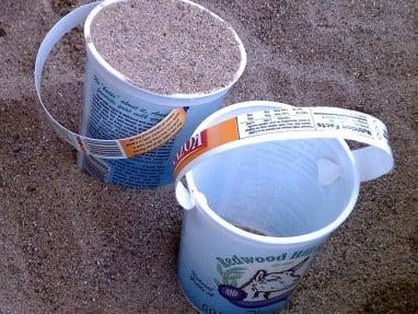 5 Minute Yogurt Container Bucket