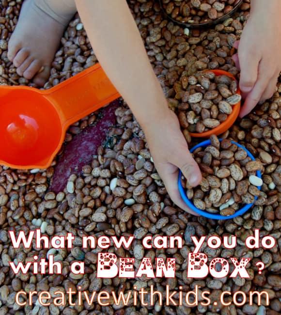 Fun Ideas for Bean Box Sensory Play