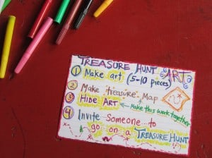 Art Treasure Hunt Instructions