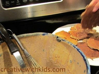 Delicious gluten free dairy free egg free pancakes