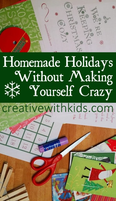 You can have homemade holidays without all the stress