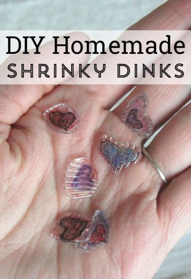 How to make DIY Shrinky Dinks - recycled plastics