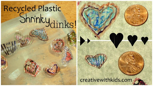 homemade shrinky dinks collage image