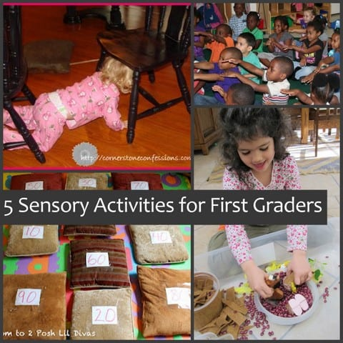 5 Sensory Activities for First Graders