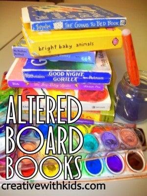 Altered Board Books