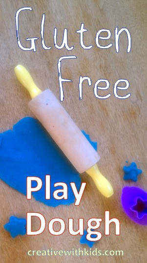 Gluten Free Recipe for Play Dough
