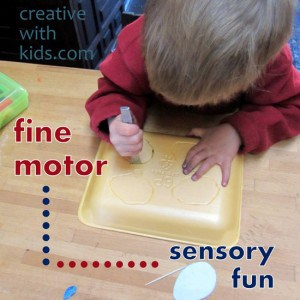 Foam Tray Sensory Activity (1)