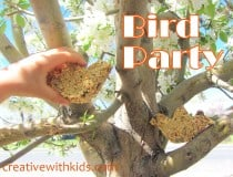 How to celebrate spring with a bird party