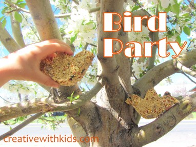 Looking UP! How to Celebrate Spring with a Bird Party