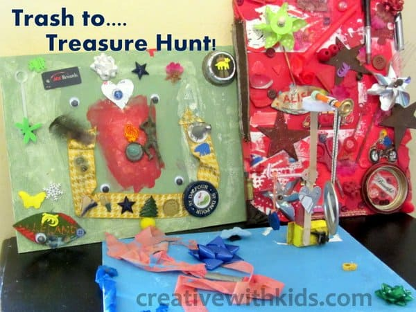 All three treasure hunt pictures