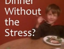 dinner without stress