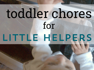 10 Chores to Do With Your Toddler