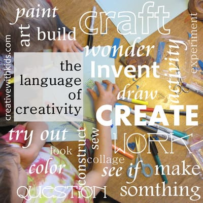 Are you using language to make craft projects exciting?