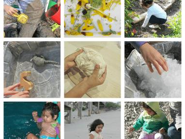Sensory Activities with Natural Materials
