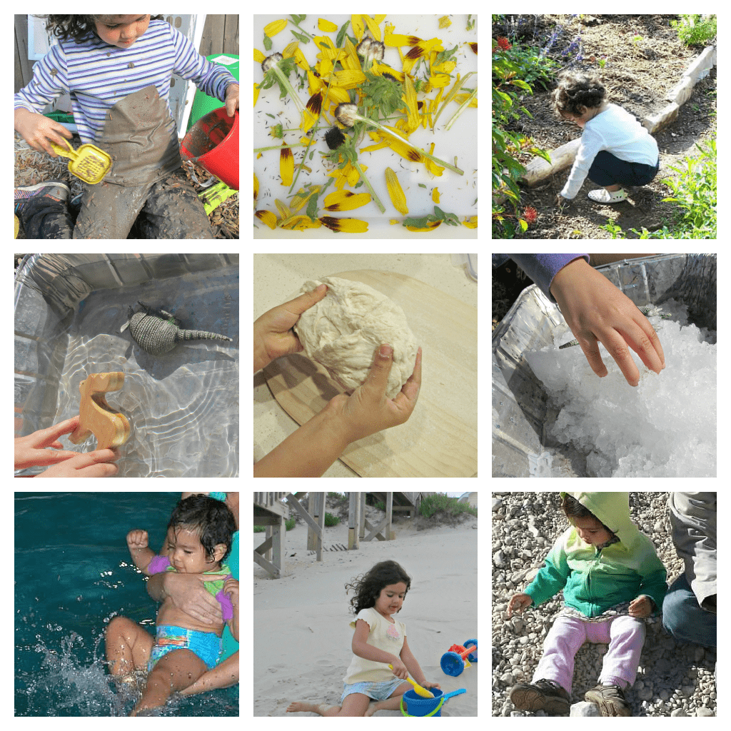 20 ideas for frugal and fun sensory activities for Waste material activity