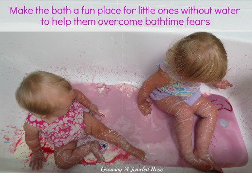 Make The Bath A Fun Place Without Water