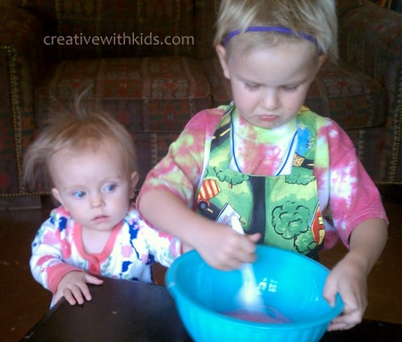 Cooking - toddler years