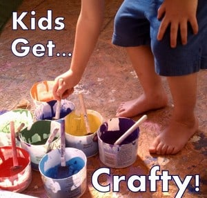 Kids Get Crafty