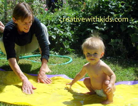 Toddler years bucket list - water play