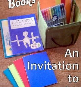 How to Make Homemade Books – with EASY Video Tutorial