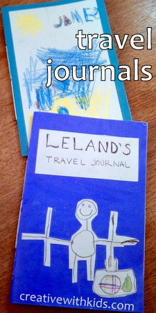 Easy Homemade Books - Travel Journals