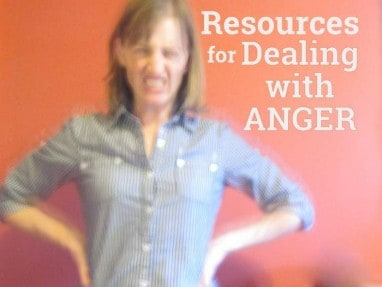 Great resources to help you deal with anger as a parent