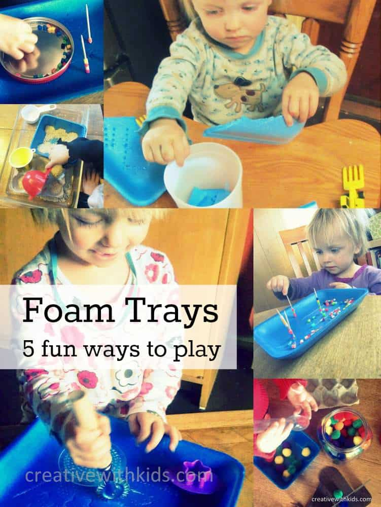 foam tray fun