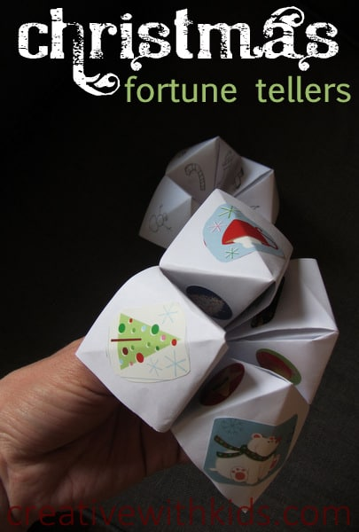 Merry Christmas Fortune Tellers