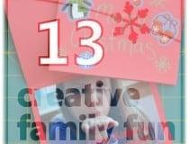 Creative Christmas Countdown day 13