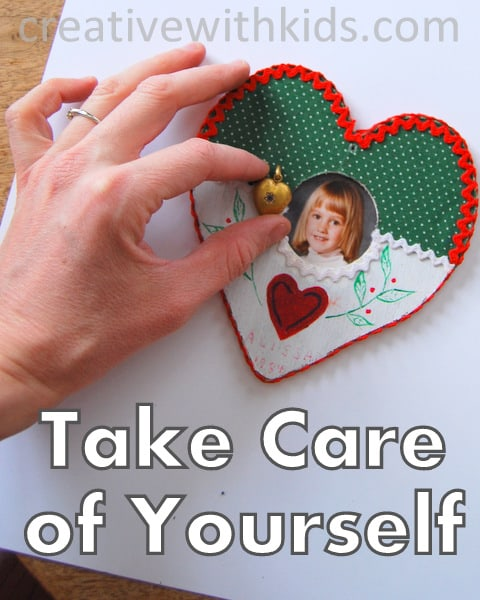 How to Take Care of Yourself. Be Kind to Yourself Challenge for Moms.