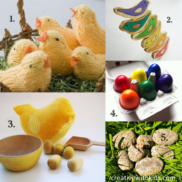 A Handmade Easter - Eggs and Baby Chicks Etsy Round Up