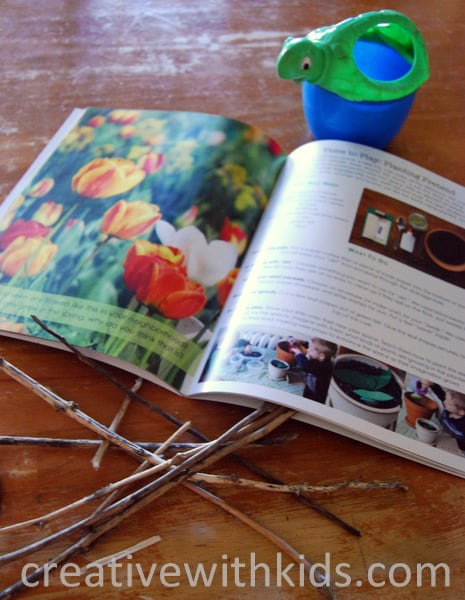 Crafting Connections gives a free spring mini-mag away to introduce their kids activities magazine.