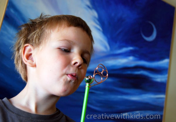 Homemade Bubble wand - Artterro kit