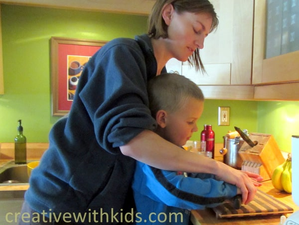 Activities for Kindergarteners - cooking together