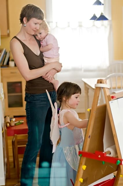 How to fit art and creativity into your everyday busy life - an interview with The Artful Parent