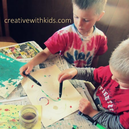 How to slip in art and creativity in a very busy family schedule (2)