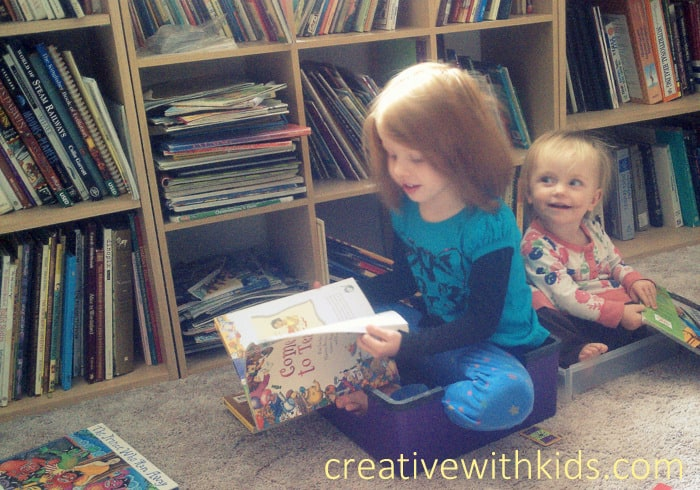 Must Do Activities for Kindergarteners - Quiet Reading