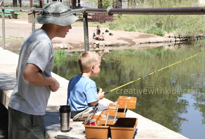 Must Do List of Activities for Kindergarteners- Go Fishing