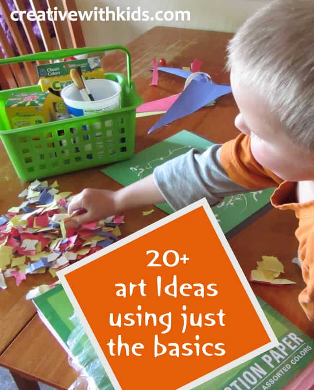 Arts and Crafts Projects Using just the basics