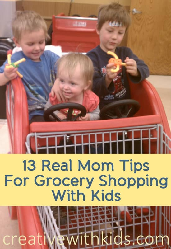 Easier grocery shopping with kids