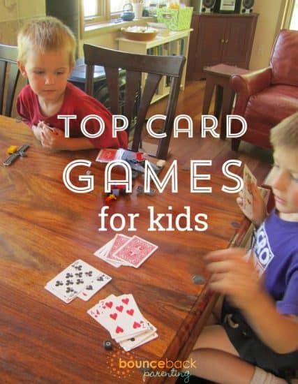 Good List of the Best Card Games for Kids