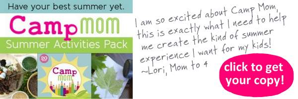 camp mom summer activities pack and planning printables