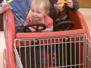 Making grocery shopping with kids fun.