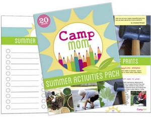Camp Mom! Summer Activities Pack