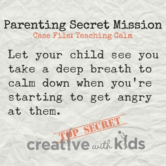 Parenting Secret Mission Deep Breath