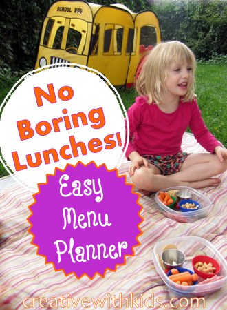 Easy Real Food Lunch Meal Planning